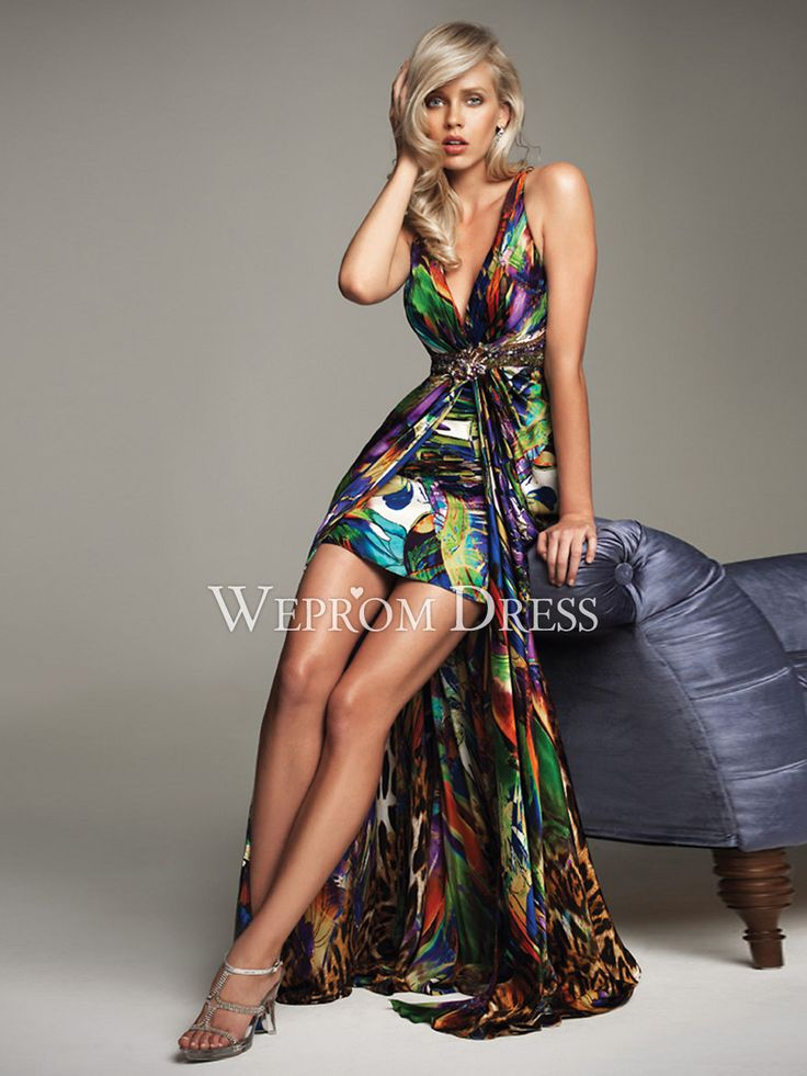 17 best ideas about Multi Coloured Cocktail Dresses on Pinterest