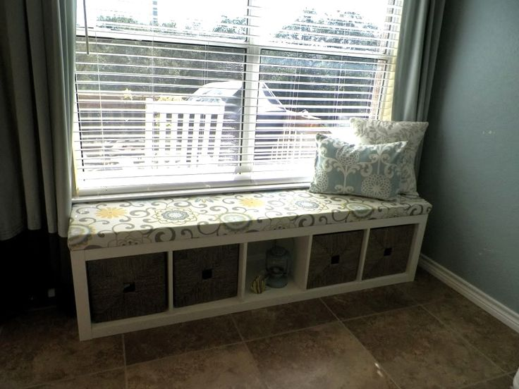 Ikea Hack Turn A Shelving Unit Into A Window Seat Diy