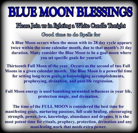blue moon tonight