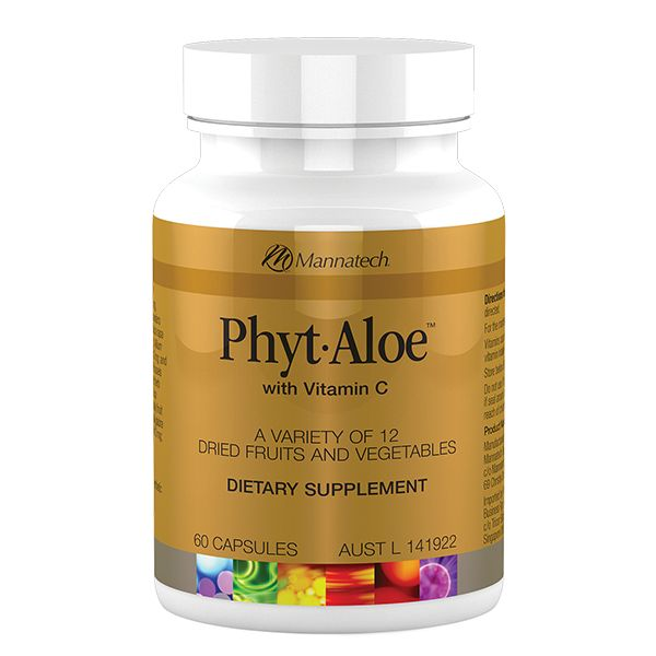 Phyt•Aloe® | Mannatech  Eating green foods like brussel sprouts and cabbage can be hard, but we know they are good for us. Recent local research reveals that on average Australians need to increase their intake of vegetables to include between 5-6 daily serves of a wide variety of types and colours. Guidelines also recommend two servings of fruit per day.  http://au.mannatech.com/real-products/health/phytaloe/