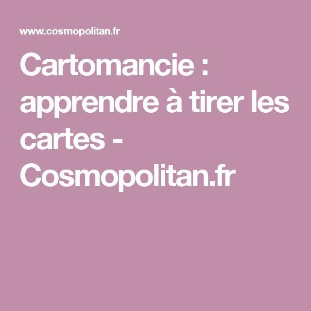 Cartomancie: apprendre à tirer les cartes - Cosmopolitan.fr