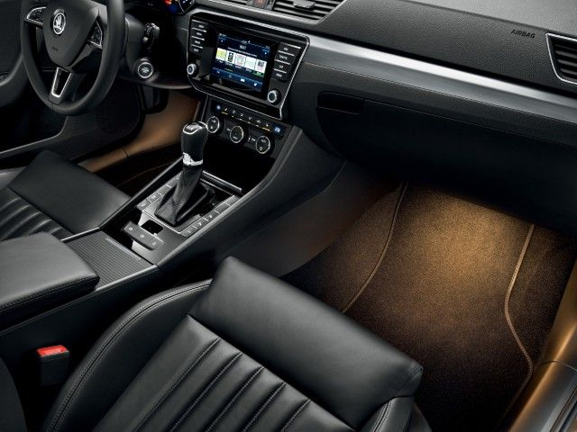 2016 Skoda Superb Combi has extremely spacious interior. One of the best in its class.