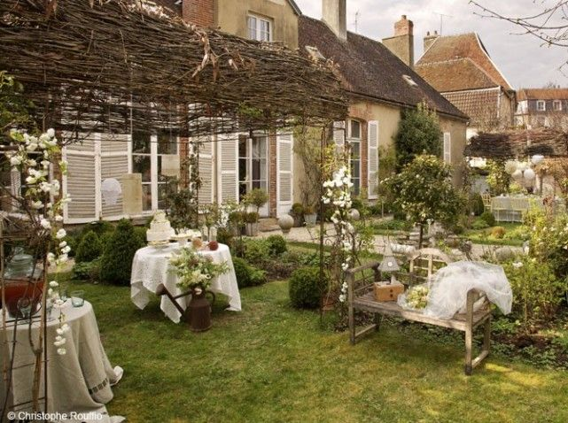 Table mariage campagne                                                                                                                                                      Plus