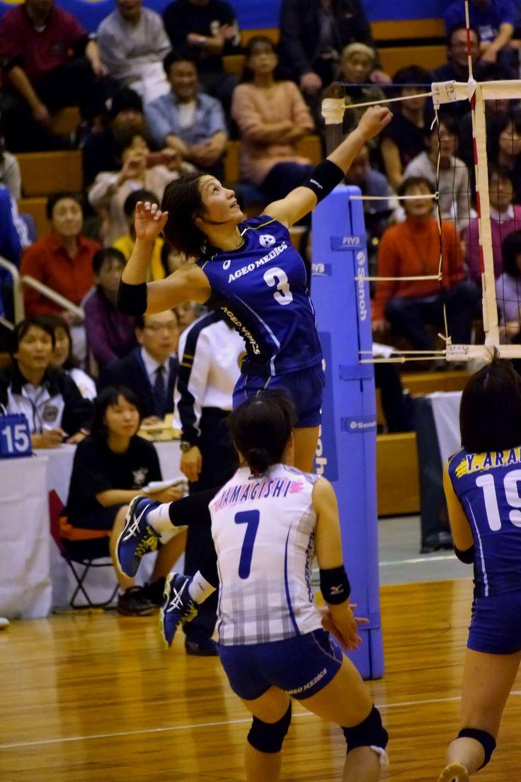 2015/16 Vプレミアリーグ女子 深谷大会 上尾メディックス 吉村志穂 選手