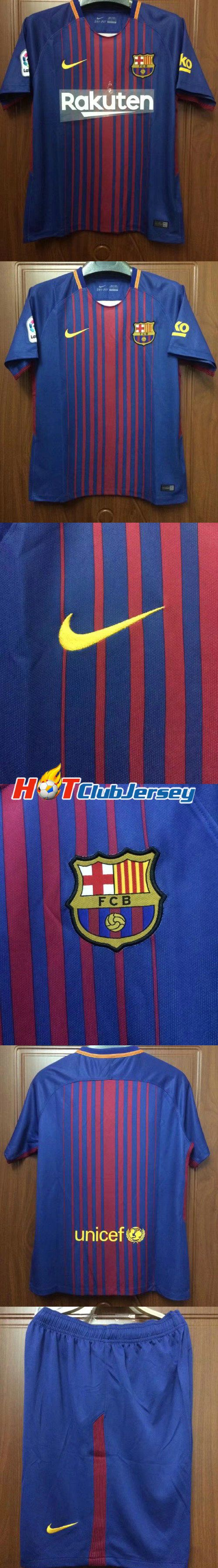 Barcelona  2017 18  Messi Soccer Jersey SUAREZ Jerseys Camisas Purple Neymar  INIESTA PIQUE Camiseta de futbol Cheap Soccer Jerseys www.hotclubjerseys.com