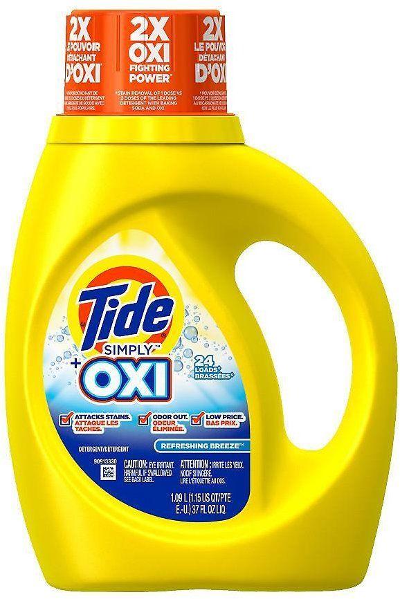 Tide Oxi He Laundry Detergent More Walgreens Walgreens