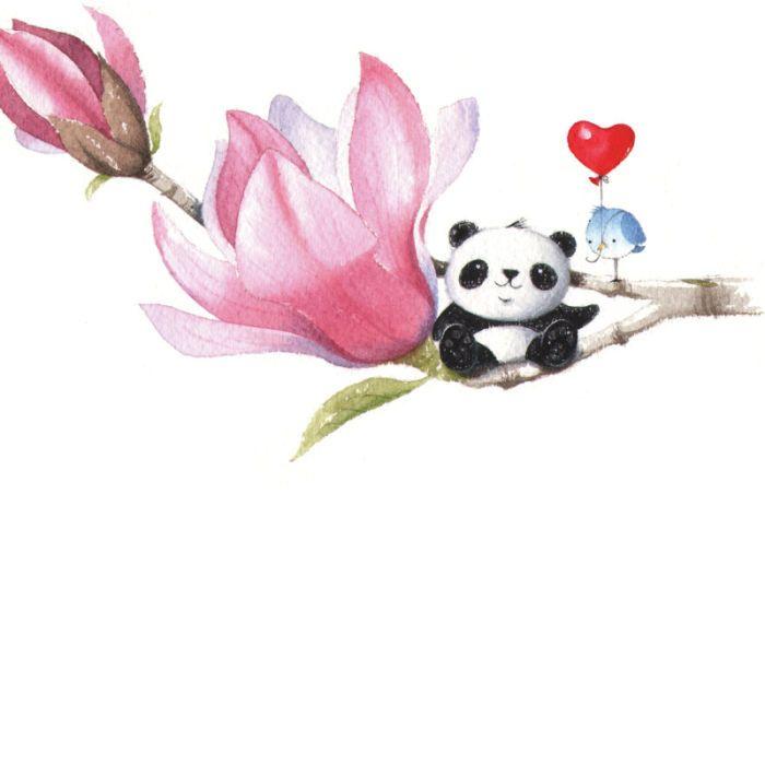 Mikki Butterley - Panda on magnolia.jpg