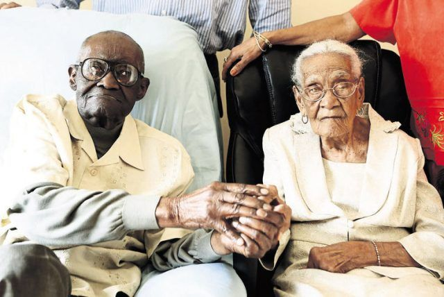 Longest Marriage Ever!!: Husband, 108, Wife, 105, Celebrate 82 years of Marriage
