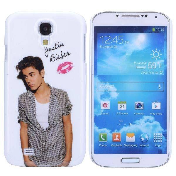 Justin Bieber hoesje Samsung Galaxy S4