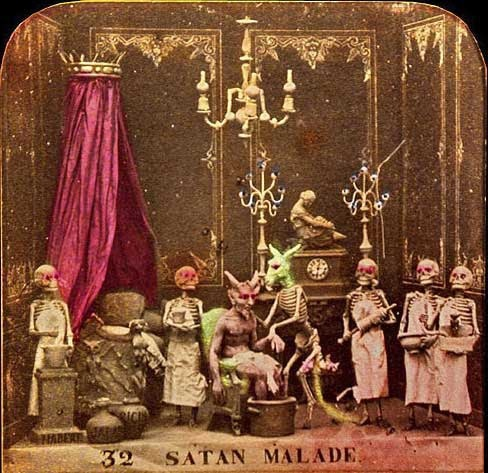 The Diableries in 19th Century