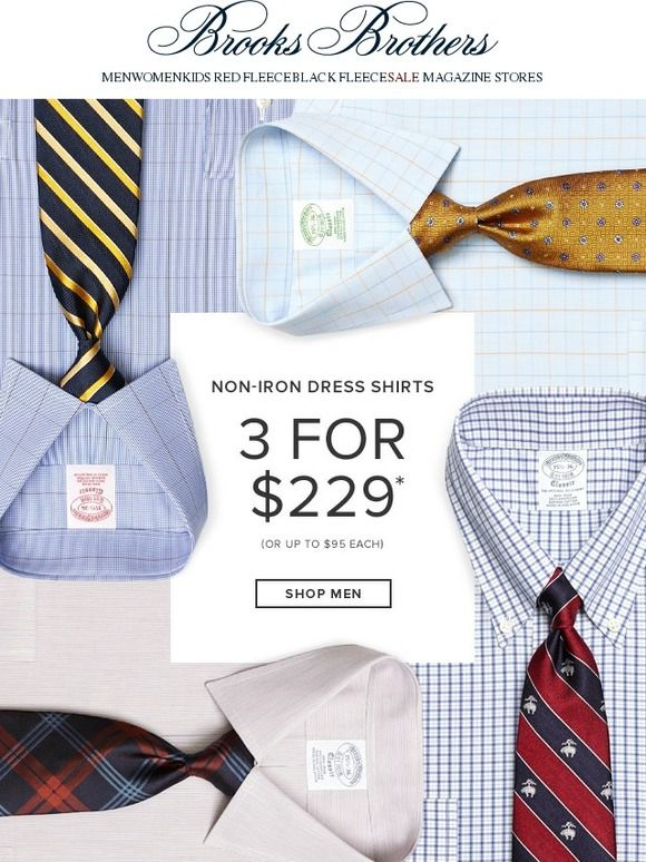Just in: Today's Every Day Value - Brooks Brothers