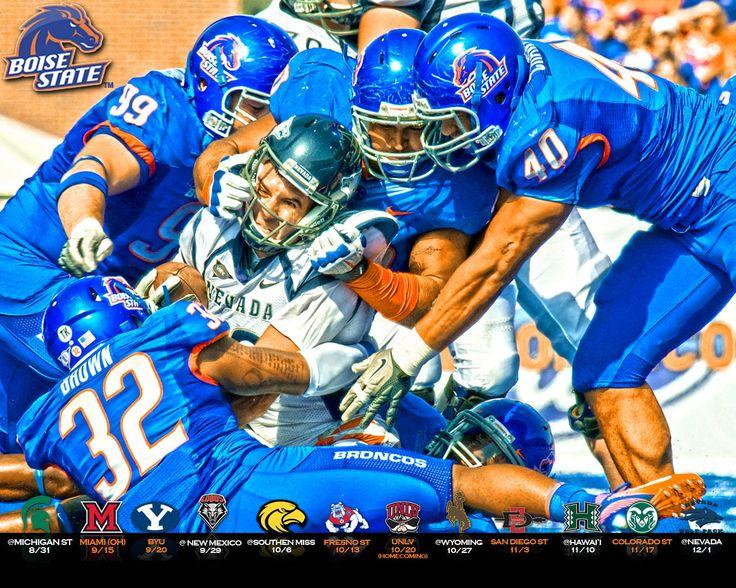 Boise State Broncos Wallpaper | Bsu Game Schedule 2012 Wallpaper | Mixed HD Game Wallpapers