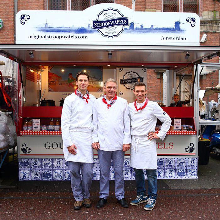 Stroopwafel best in Holland. Albert Cuyp market.