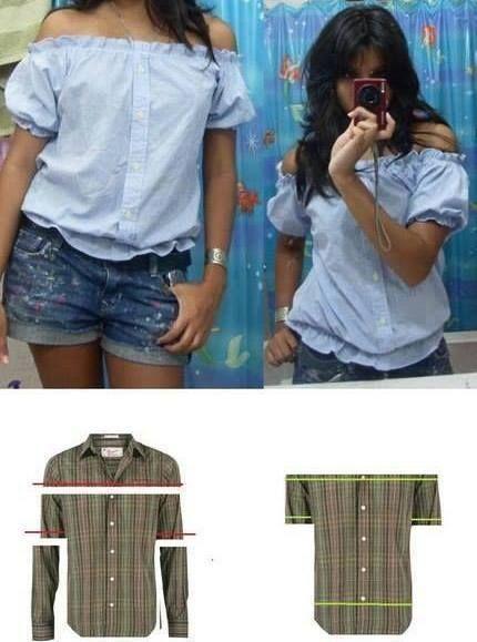 riciclo camicia