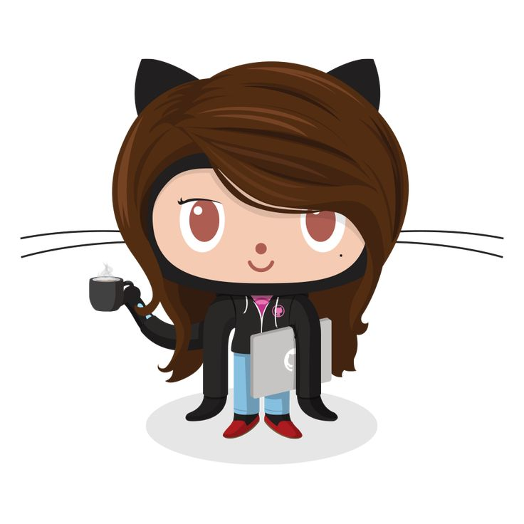 Lady Octocat Coder