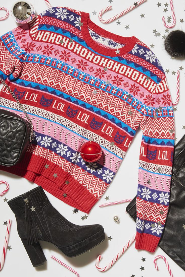 Sweater parties & candygrams are right around the corner! Get ready with spirited H&M styles from $9.99.