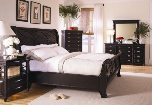 New Black Sleigh Bed Master Bedroom Furniture Set: Queen Bed, Dresser, Mirror, 2 Night Stands by eWay Furniture, http://www.amazon.com/dp/B000PB0SEC/ref=cm_sw_r_pi_dp_uwKWqb1VK8AT0