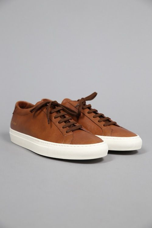 ORIGINAL ACHILLES LOW 1812 BROWN #CommonProjects #FW15 #Graduate #Graduatestore #chaussures #shoes #sneaker 340€