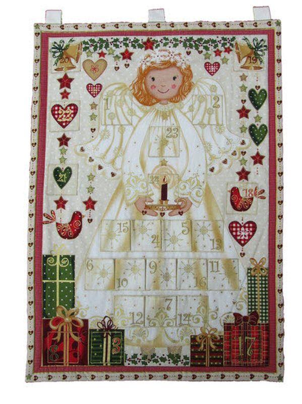Angel (A) Fabric Advent Calendar