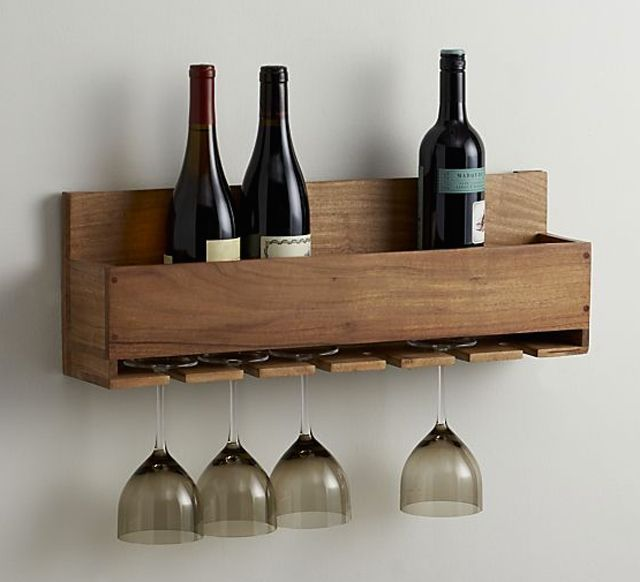 Free DIY Wine Rack Plans So You Can Build One Right Now: Free Wine Rack Plan from The House of Wood