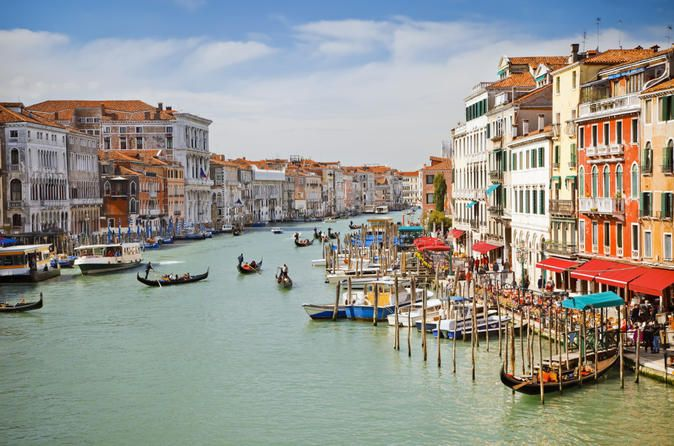 Book your adventure - If it's your first time in Venice, see all the highlights of this magical city on a combination walking tour of Venice's narrow streets and a boat tour on the Grand Canal. From Piazza San Marco (St Mark's Square) to the Rialto Bridge, your informative guide will offer historical perspectives on this fascinating medieval city. Plus, you'll skip the long lines at St Mark's Basilica –