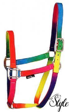 FAIR PLAY szivárvány színű kötőfék Rainbow