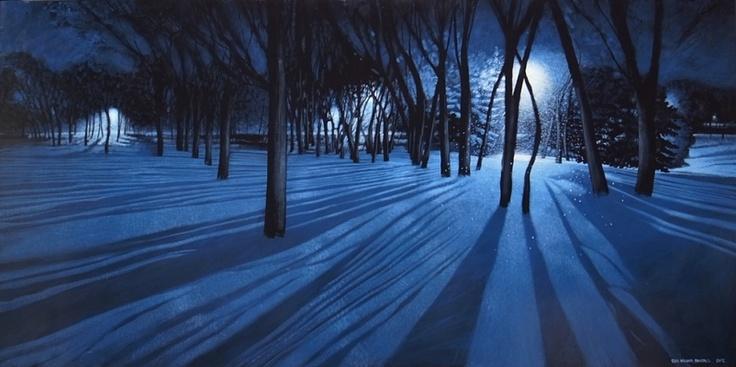 'Night Walk' by Sean William Randall at Mayberry Fine Art