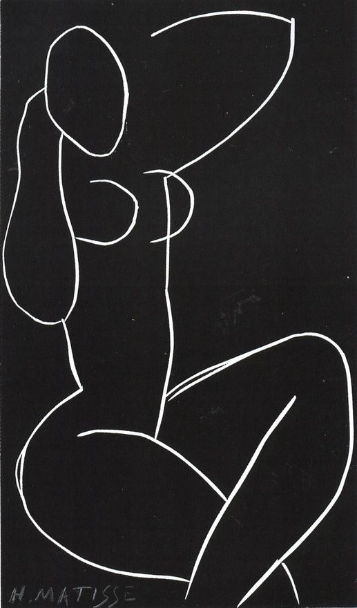 Matisse Hmmm ...I tried drawing some nudes when I was in the 4th grade.  My teacher was NOT impressed.  Ha.