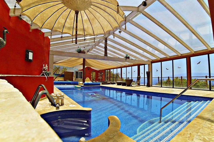 Finca Montimar, Chio, Guia de Isora, Tenerife, 15 bedrooms with wellness spa.