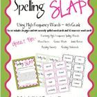 This is a spelling game based on the classic card game Slap Jack! The words in this game are high freqency words.  There are 164 core word cards an...