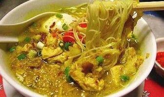 Soto Bening Daging Ayam Suwir