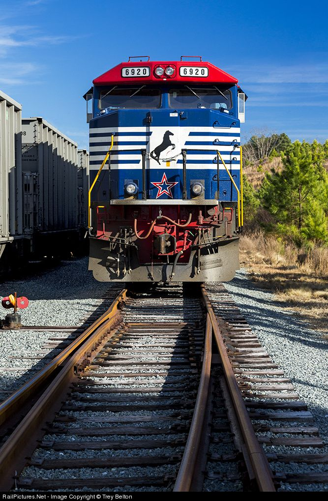 RailPictures.Net Photo: NS 6920 Norfolk Southern EMD SD60E at Belews Creek, North Carolina by Trey Belton