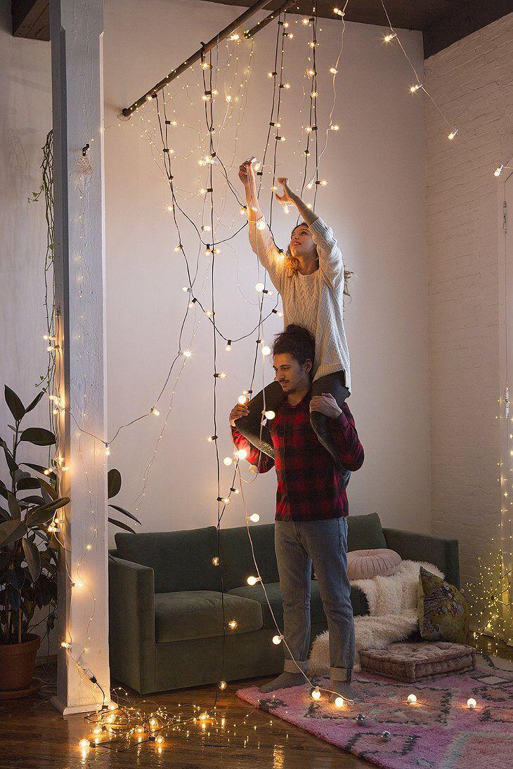 Best 25 Christmas String Lights Ideas On Pinterest