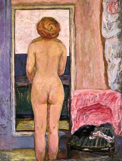 Femme Nue Vue De Dos - Pierre Bonnard