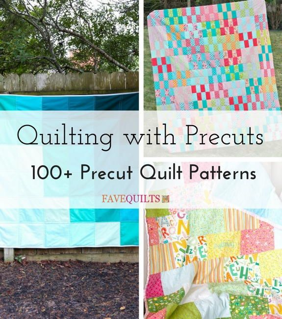 Easy Quilt Patterns Using Precuts : 85 best images about Most Popular Free Quilt Patterns on Pinterest Small quilt projects, Quilt ...