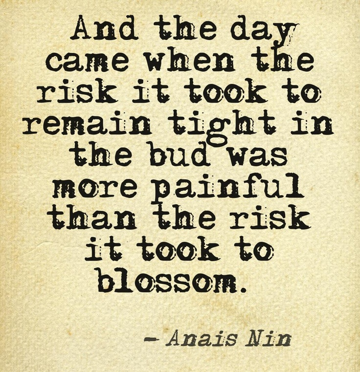 Anais Nin Quotes blossom ~ Top Ten Quotes