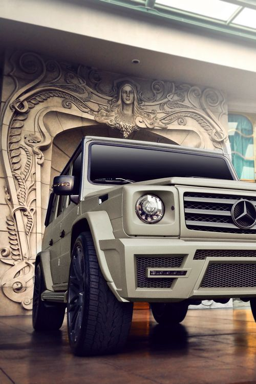 Mercedes-Benz G-Class. Full-size luxury crossover SUV.