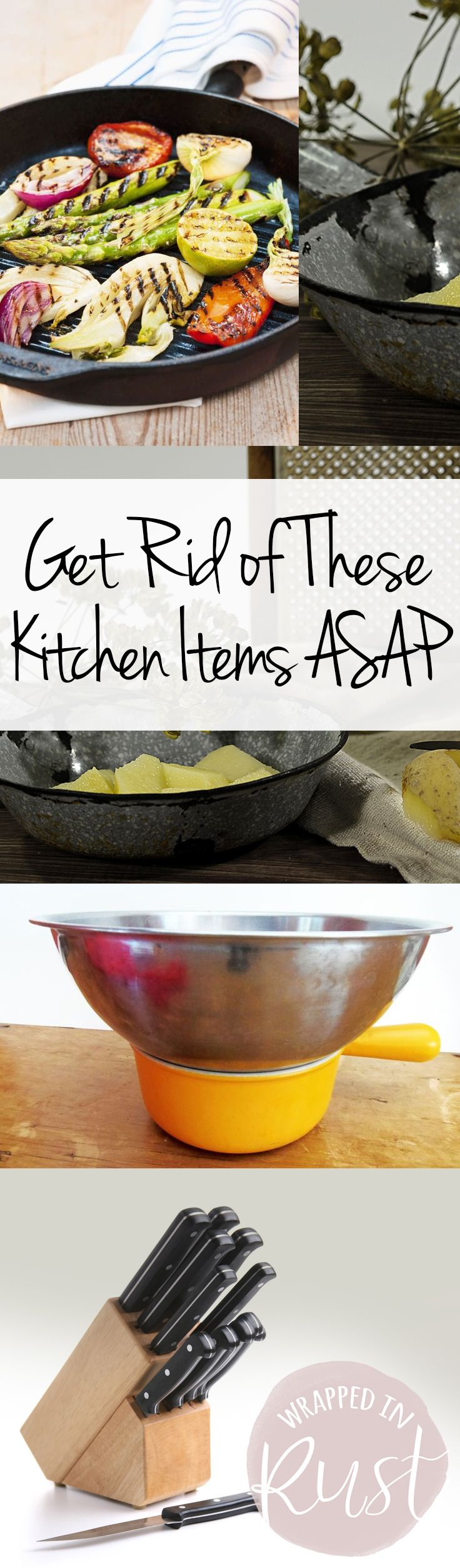 Get Rid of These Kitchen Items ASAP| Kitchen Organization, Kitchen Organization Hacks, How to Organize and Declutter Your Kitchen, Declutter Your Kitchen, Kitchen Organization, How to Declutter Your Home, Decluttering Your Home, Popular Pin