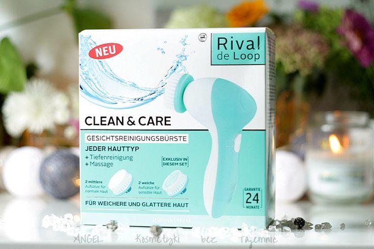 Kosmetyki Bez Tajemnic: RIVAL DE LOOP, Elektryczna szczoteczka do oczyszczania twarzy, jak wypadła na tle innych? Isana Young, żel do mycia twarzy i demakijażu oczu