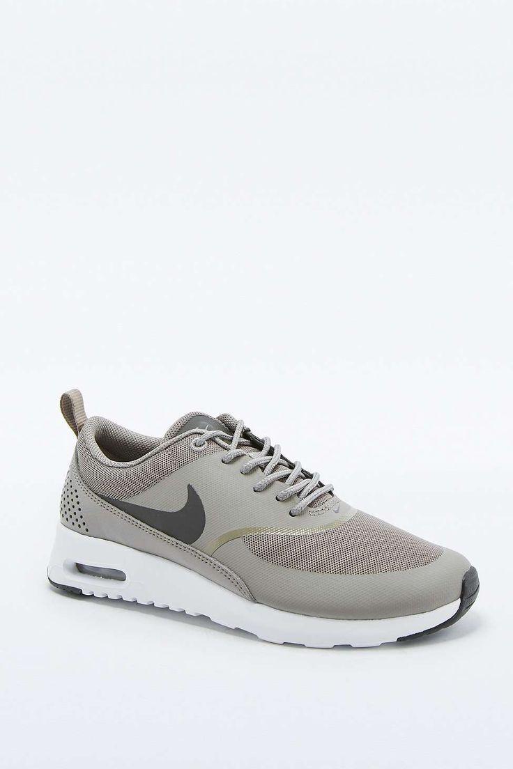 Nike Thea Beige Cuir