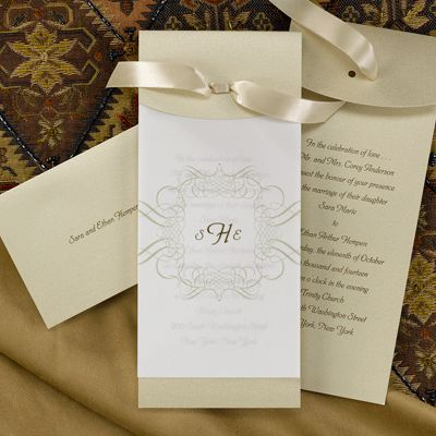 Candlelight Collection Wedding Invitations From Occasions In Print