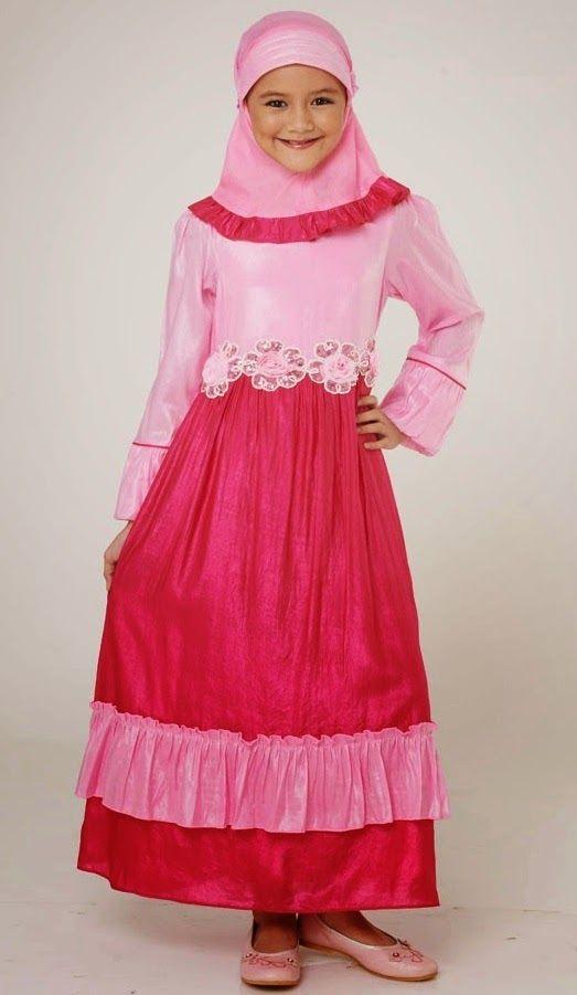 contoh desain baju muslim anak yang dapat anda jadikan inspirasi dalam memilih baju muslimah