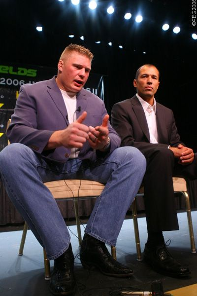 Brock Lesnar Doesn't Care if WWE Supports His Comeback Bid at UFC 200