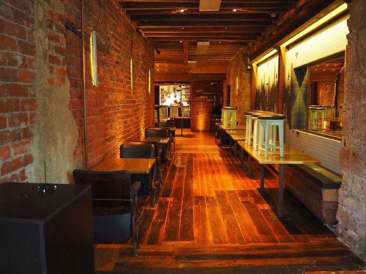 Pilgrim Coffee Hobart Tasmania industrial interior cafe