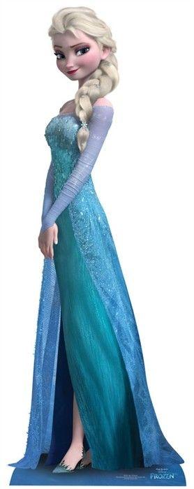 Disney Frozen Elsa Lifesize Cardboard Cutout