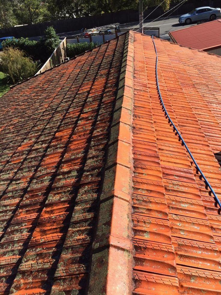 Terracotta roof clean in Ipswich