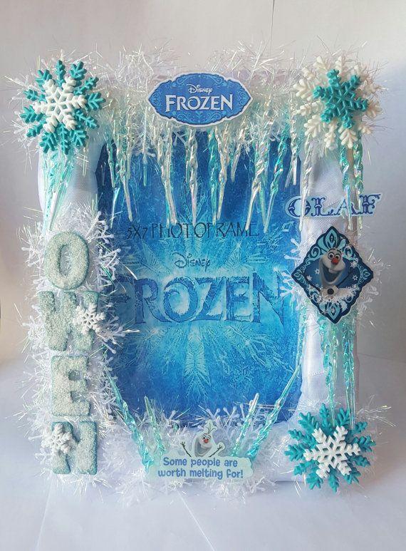 Unique Disney Frozen #Olaf Picture Photo Frame by BlingFlowersAndCo