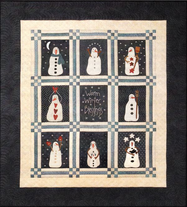155 best Quilts Snowman images on Pinterest | Sewing patterns, DIY ... : snowman quilt patterns applique - Adamdwight.com