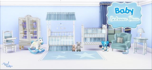 Sims 4 CC's - The Best: Nursery Set by Miguel