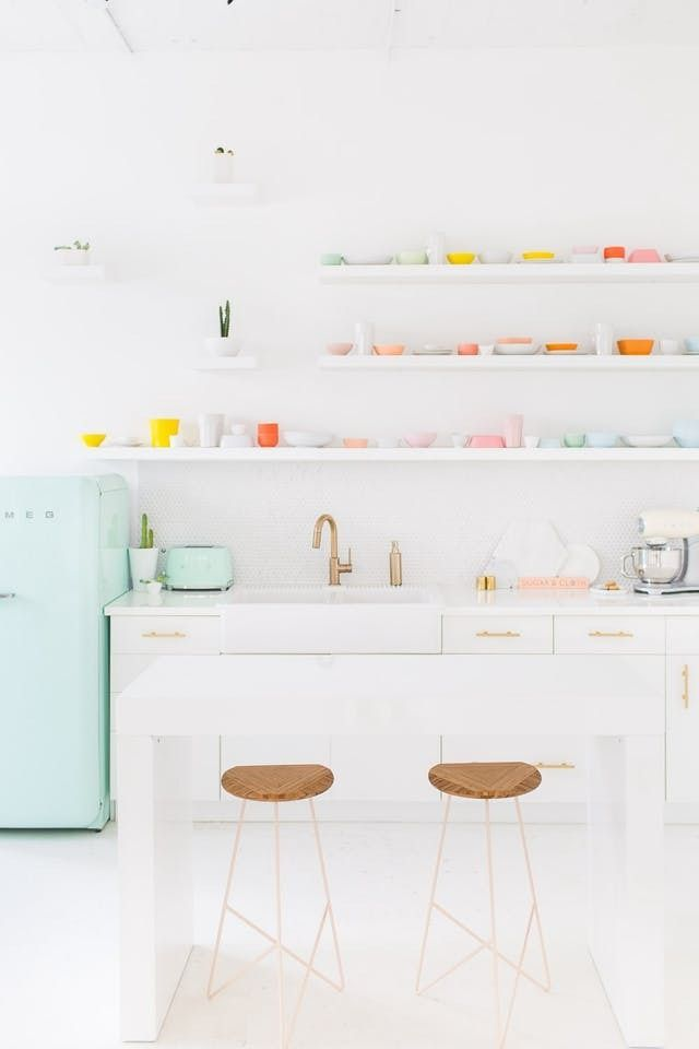 The Refrigerator Really Makes the Room: A Rainbow of Smegs